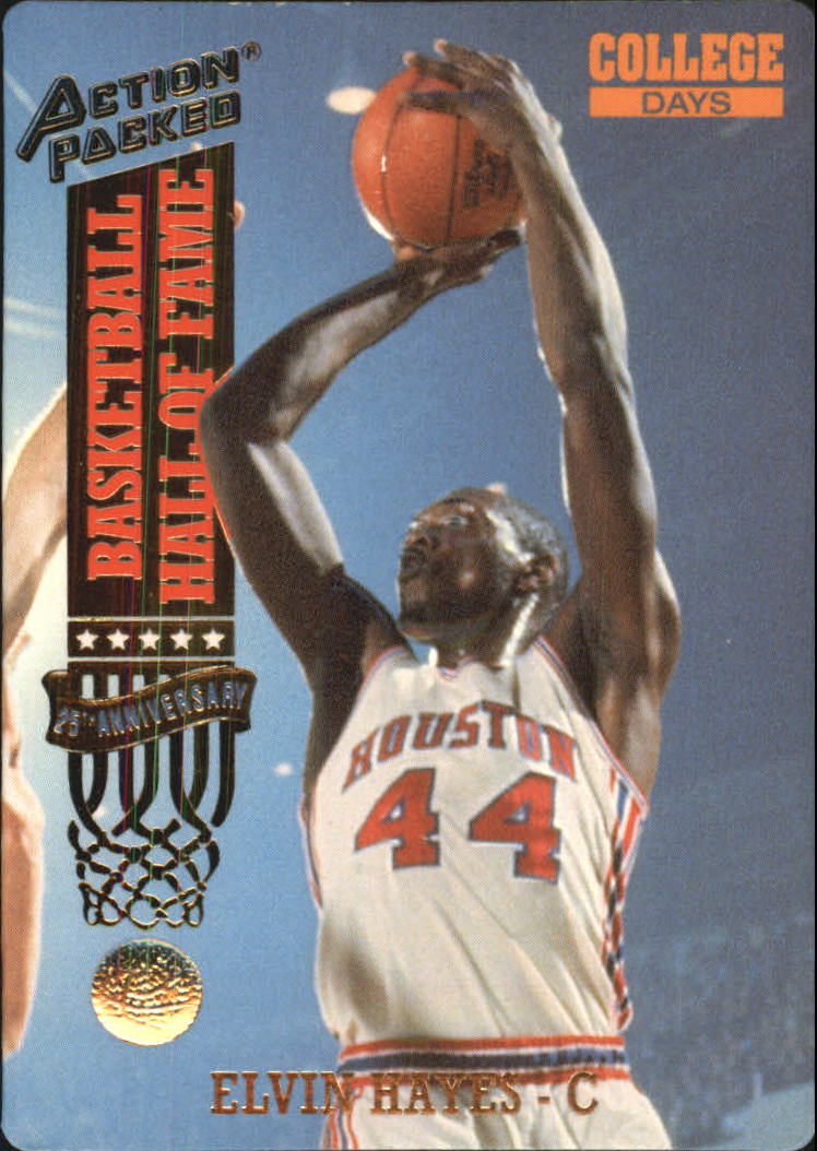 1993 Action Packed Hall of Fame #76 Elvin Hayes