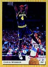 1993 Classic #1 Chris Webber