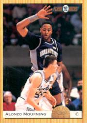 1993 Classic #105 Alonzo Mourning FLB
