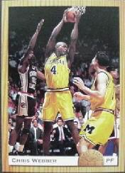 1993 Classic #PR1 Chris Webber Promo