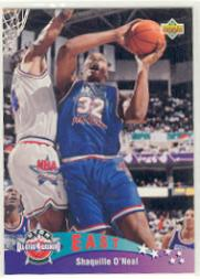 1992-93 Upper Deck International French #4 Shaquille O'Neal AS