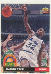 1992-93 Upper Deck International French #35 Shaquille O'Neal AD
