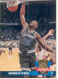 1992-93 Upper Deck International French #69 Shaquille O'Neal RS