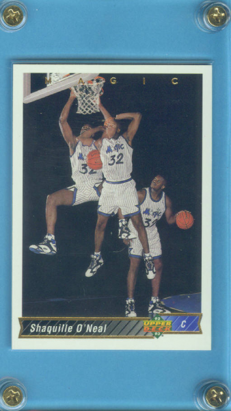 1992-93 Upper Deck International French #220 Shaquille O'Neal