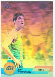 1992-93 Upper Deck International French Award Winner Holograms #8 John Stockton