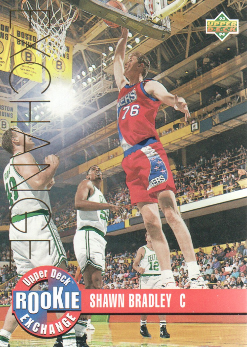1993-94 Upper Deck Rookie Exchange Gold #RE2 Shawn Bradley