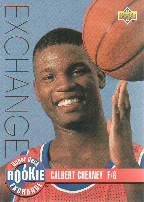 1993-94 Upper Deck Rookie Exchange Gold #RE6 Calbert Cheaney
