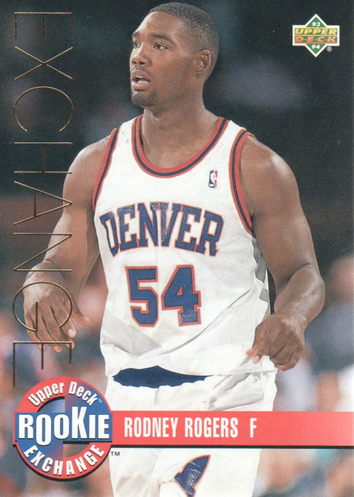 1993-94 Upper Deck Rookie Exchange Gold #RE9 Rodney Rogers