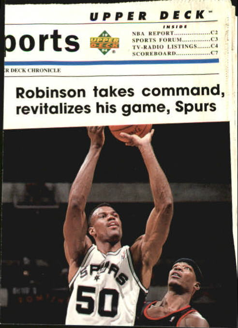 1993-94 Upper Deck SE #222 David Robinson TH