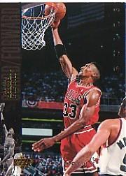 1993-94 Upper Deck SE Electric Court #1 Scottie Pippen