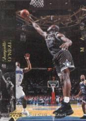 1993-94 Upper Deck SE Electric Court #32 Shaquille O'Neal