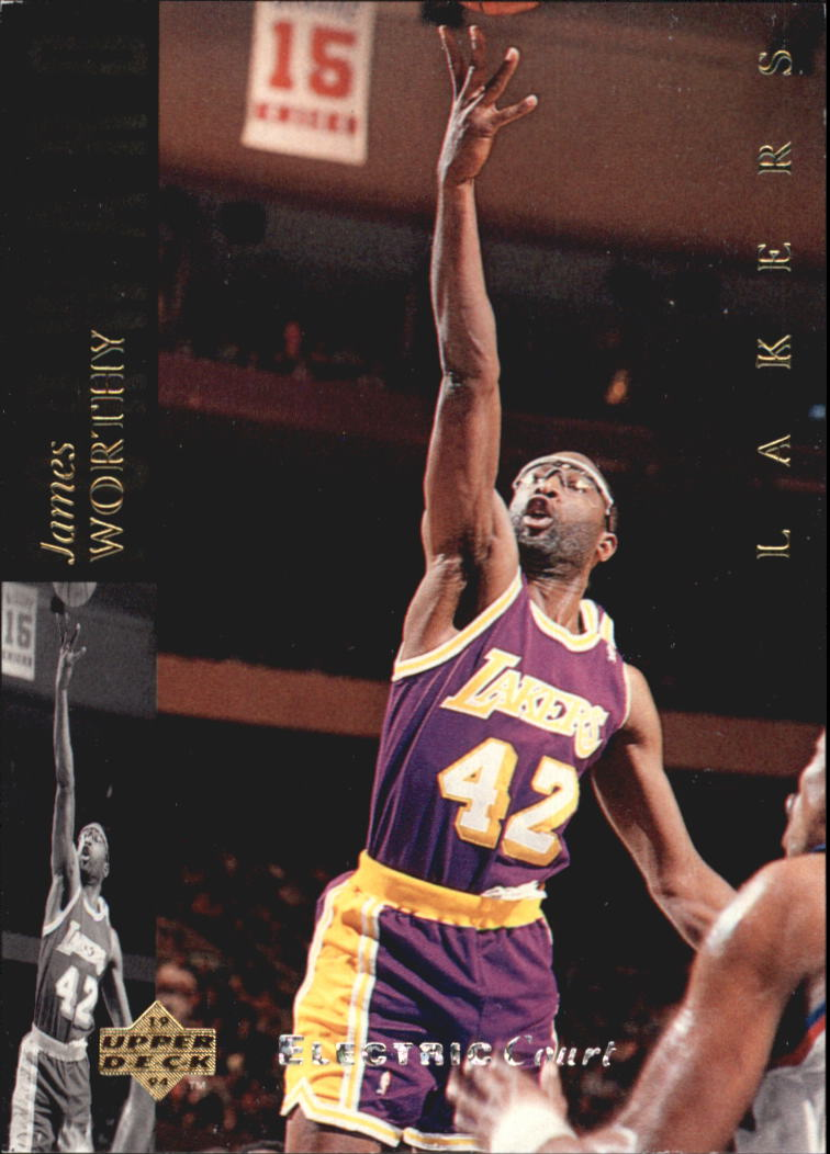 1993-94 Upper Deck SE Electric Court #42 James Worthy