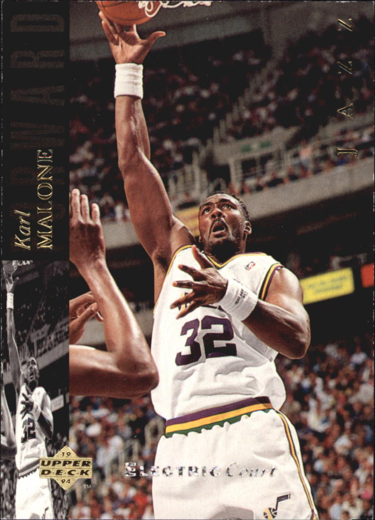 1993-94 Upper Deck SE Electric Court #152 Karl Malone