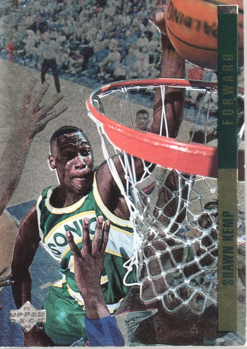 1993-94 Upper Deck SE Behind the Glass #G1 Shawn Kemp