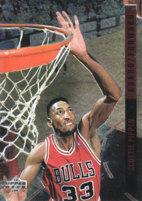 1993-94 Upper Deck SE Behind the Glass #G10 Scottie Pippen