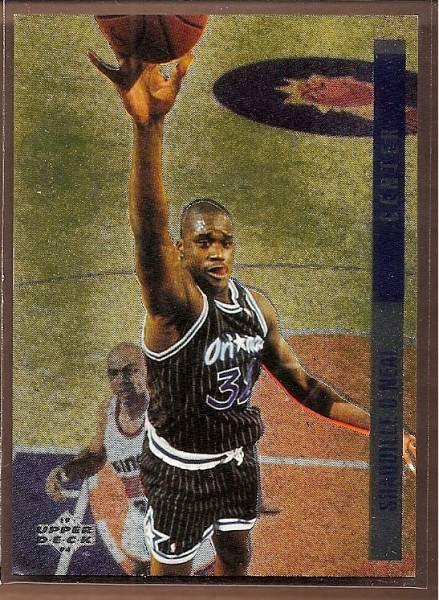 1993-94 Upper Deck SE Behind the Glass #G13 Shaquille O'Neal