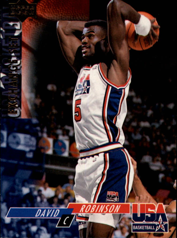 1993-94 Upper Deck SE USA Trade #10 David Robinson