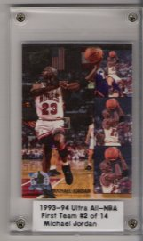 1993-94 Ultra All-NBA #2 Michael Jordan
