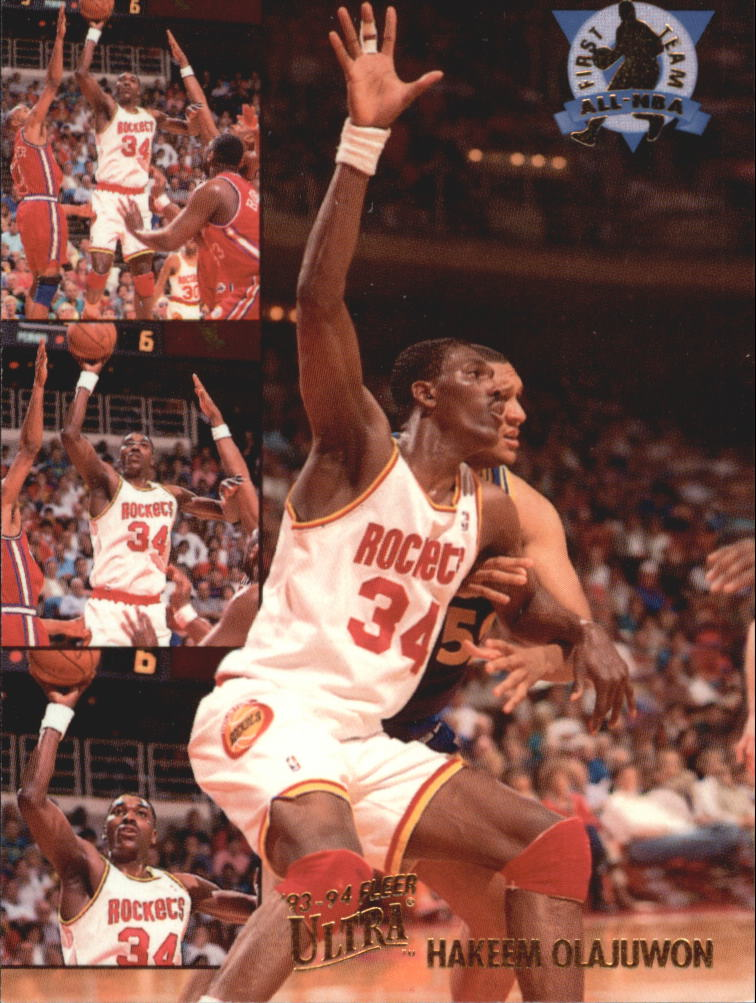 1993-94 Ultra All-NBA #4 Hakeem Olajuwon