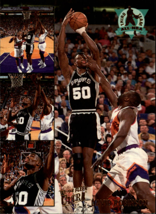 1993-94 Ultra All-NBA #14 David Robinson