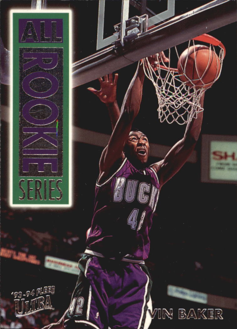 1993-94 Ultra All-Rookie Series #1 Vin Baker