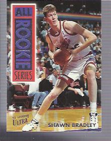 1993-94 Ultra All-Rookie Series #2 Shawn Bradley