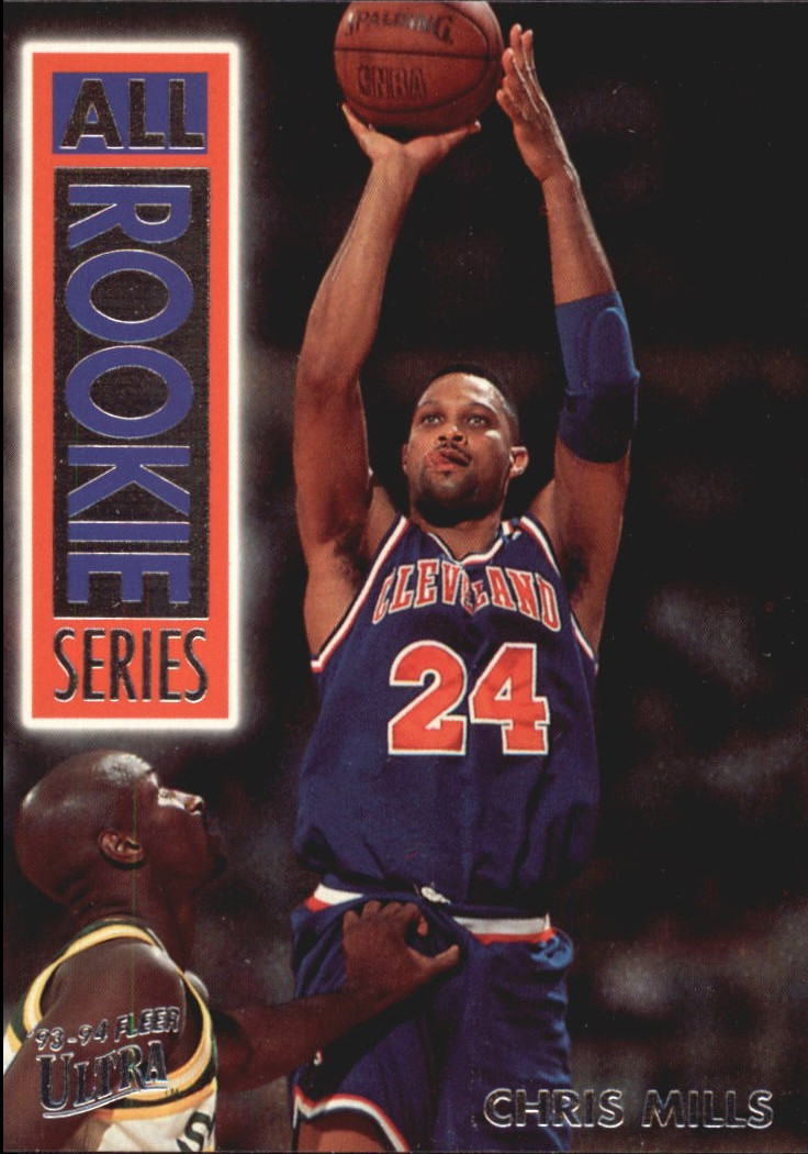 1993-94 Ultra All-Rookie Series #10 Chris Mills