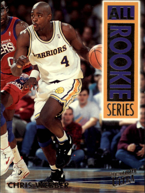 1993-94 Ultra All-Rookie Series #15 Chris Webber