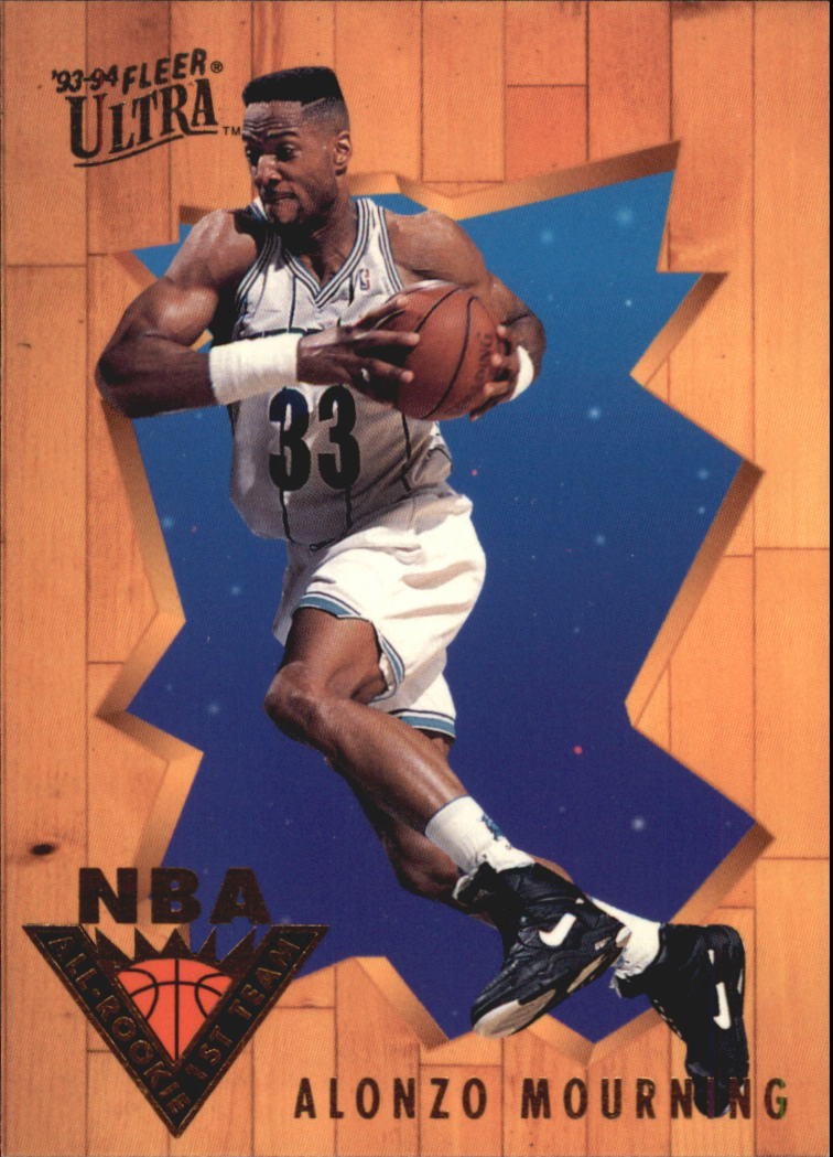 1993-94 Ultra All-Rookie Team #4 Alonzo Mourning