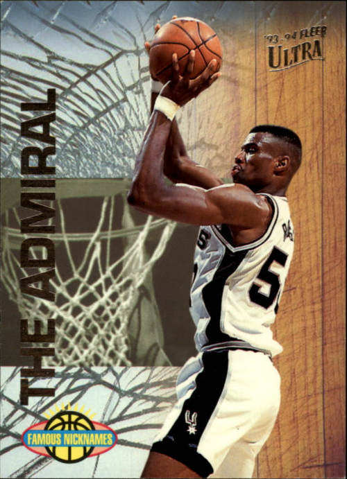 1993-94 Ultra Famous Nicknames #14 David Robinson