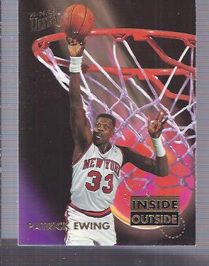 1993-94 Ultra Inside/Outside #1 Patrick Ewing