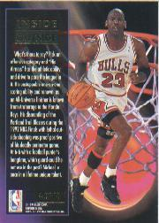 1993-94 Ultra Inside/Outside #4 Michael Jordan back image