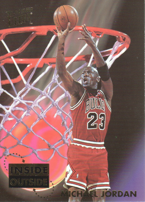 1993-94 Ultra Inside/Outside #4 Michael Jordan