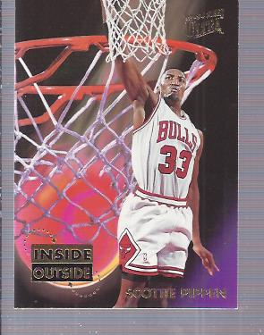 1993-94 Ultra Inside/Outside #7 Scottie Pippen