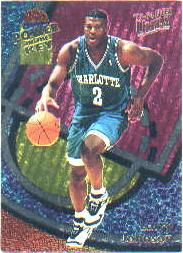 1993-94 Ultra Power In The Key #1 Larry Johnson