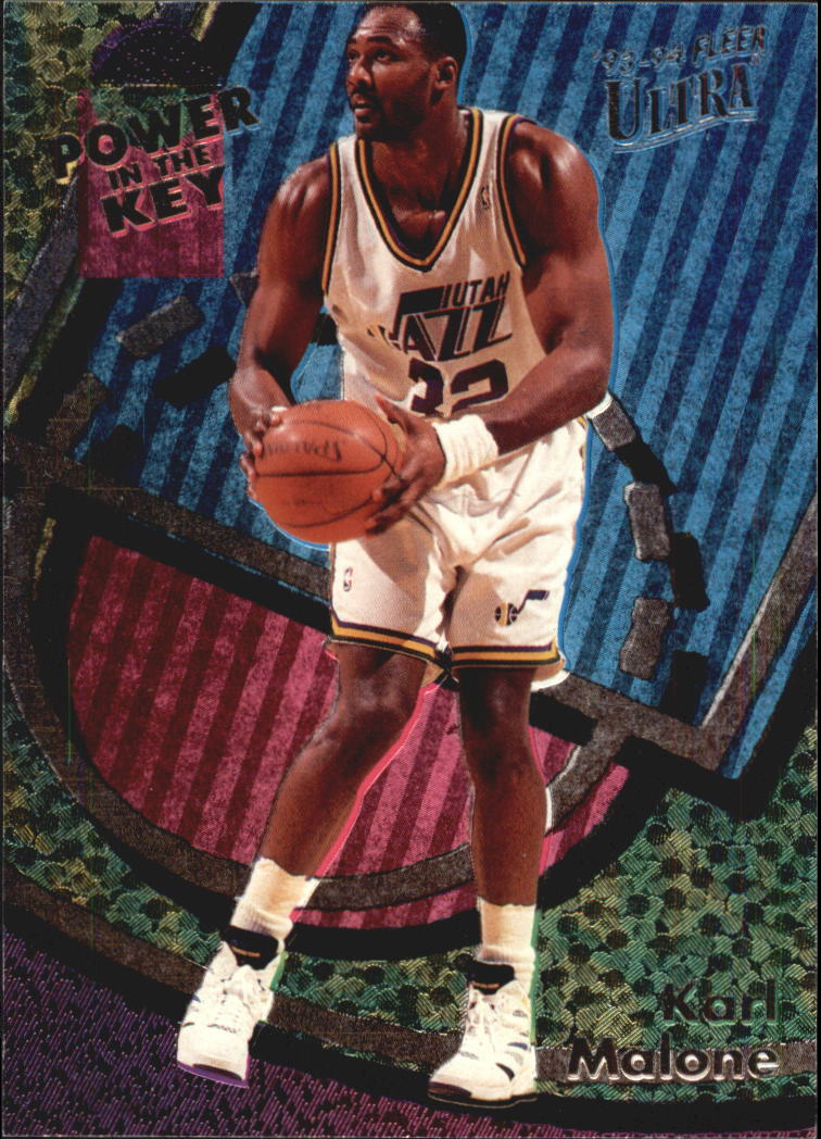 1993-94 Ultra Power In The Key #3 Karl Malone