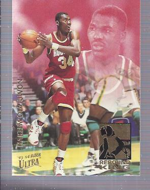 1993-94 Ultra Rebound Kings #8 Hakeem Olajuwon