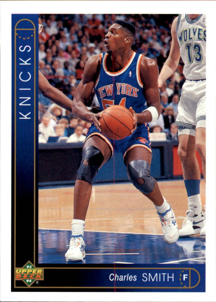 1993-94 Upper Deck #4 Charles Smith