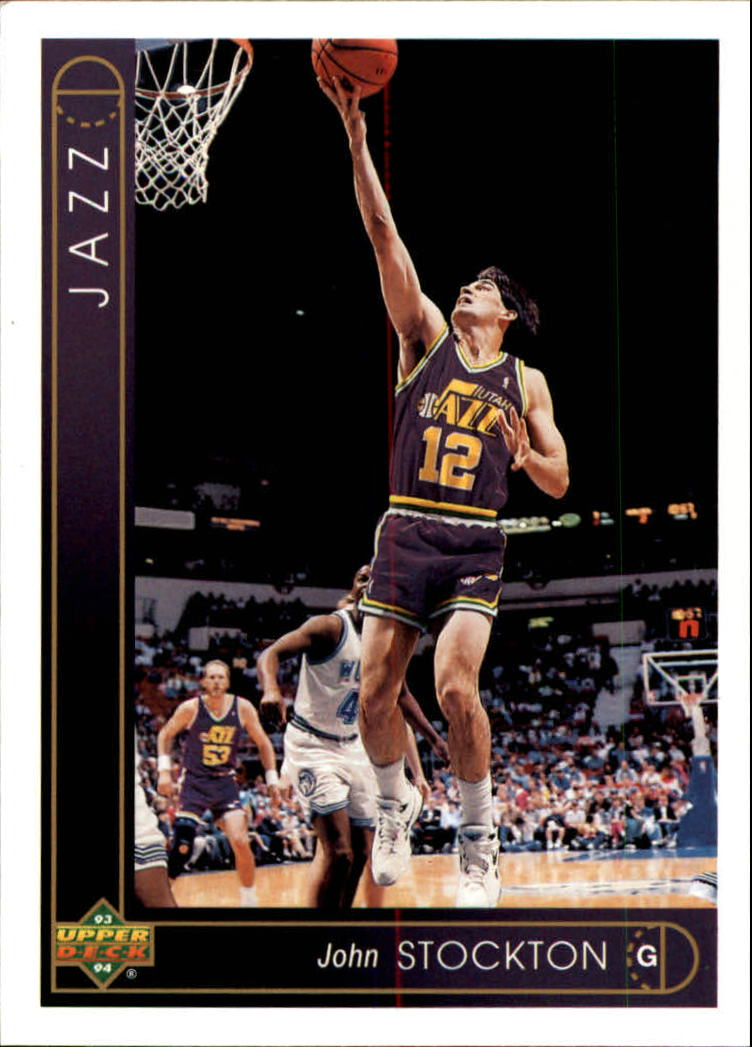 1993-94 Upper Deck #12 John Stockton