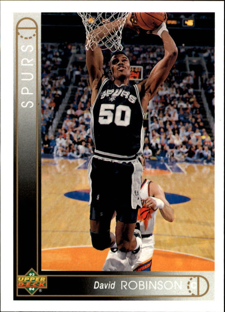 1993-94 Upper Deck #50 David Robinson