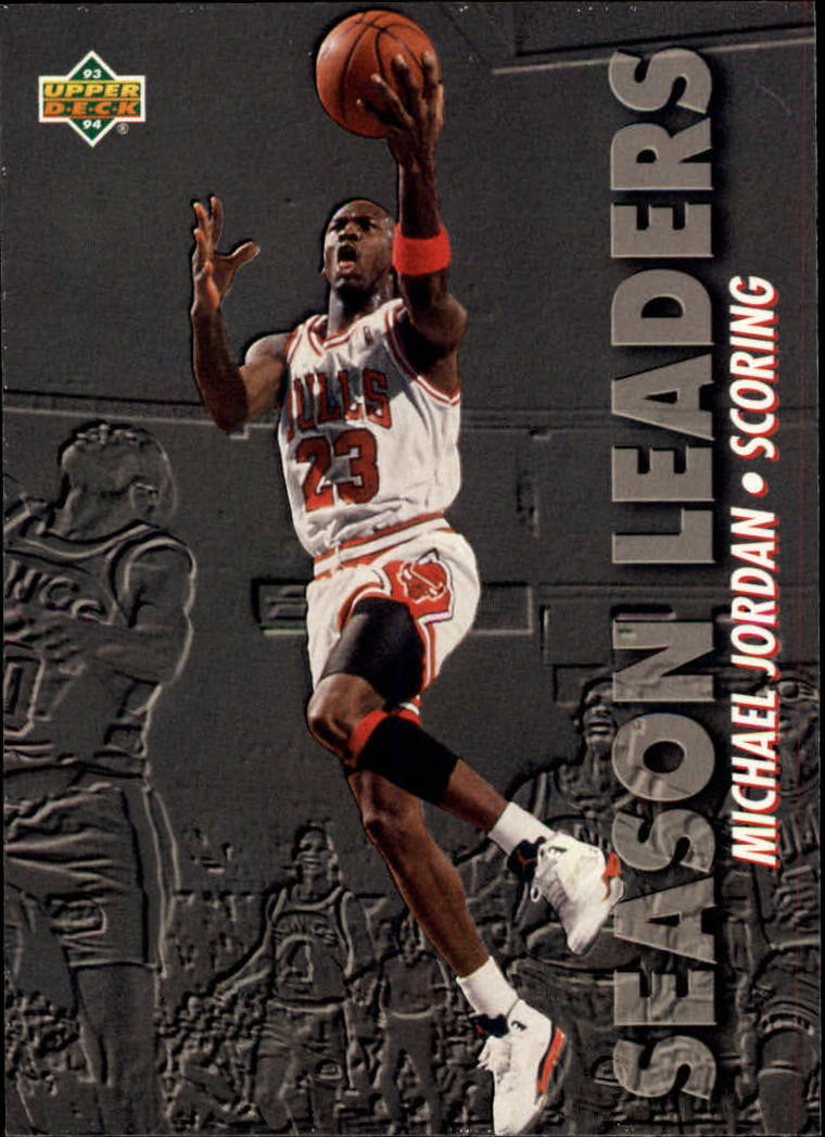 1993-94 Upper Deck #166 Michael Jordan SL
