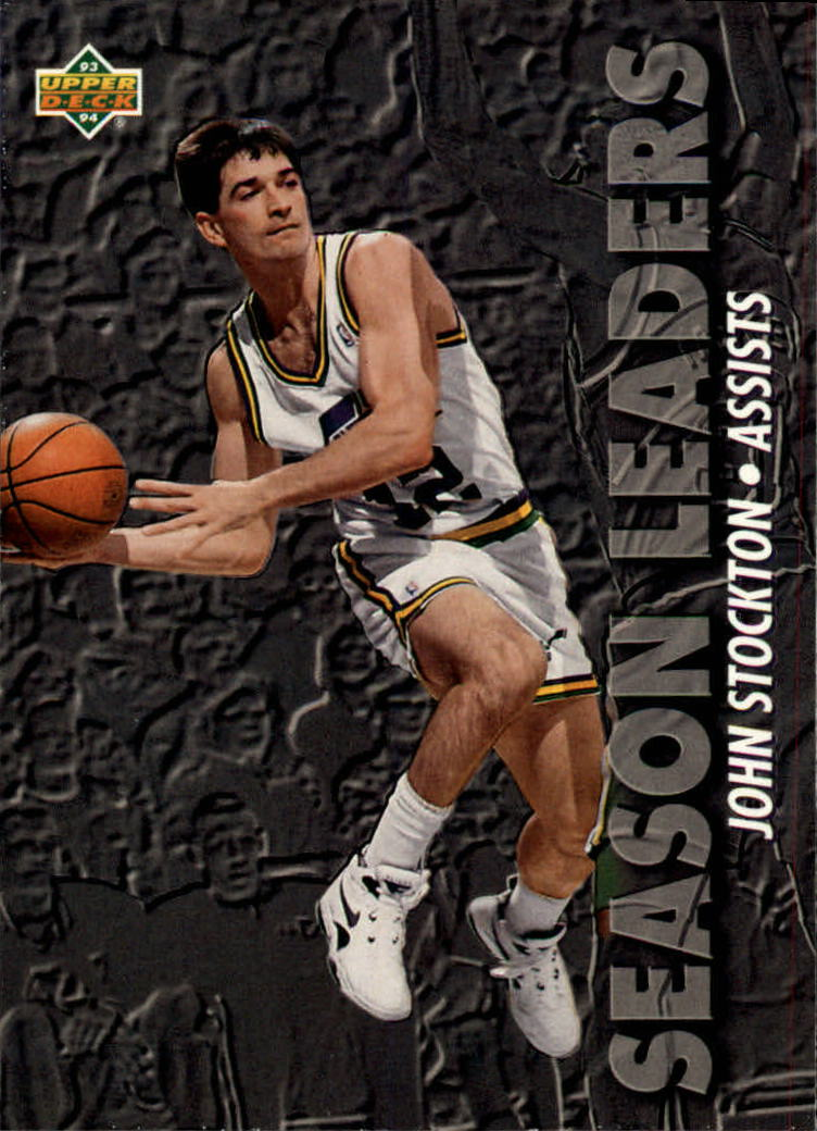 1993-94 Upper Deck #168 John Stockton SL