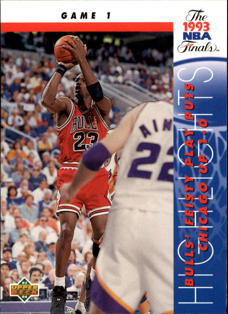 1993-94 Upper Deck #198 Michael Jordan FIN