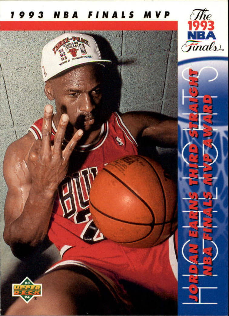 1993-94 Upper Deck #204 Michael Jordan FIN