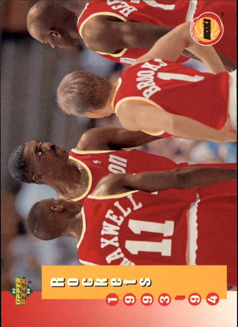 1993-94 Upper Deck #219 H.Olajuwon/Group SKED