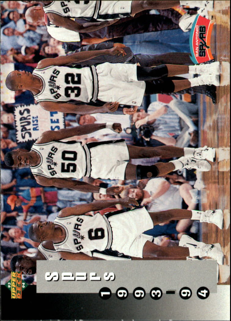 1993-94 Upper Deck #233 D.Robinson/Group SKED