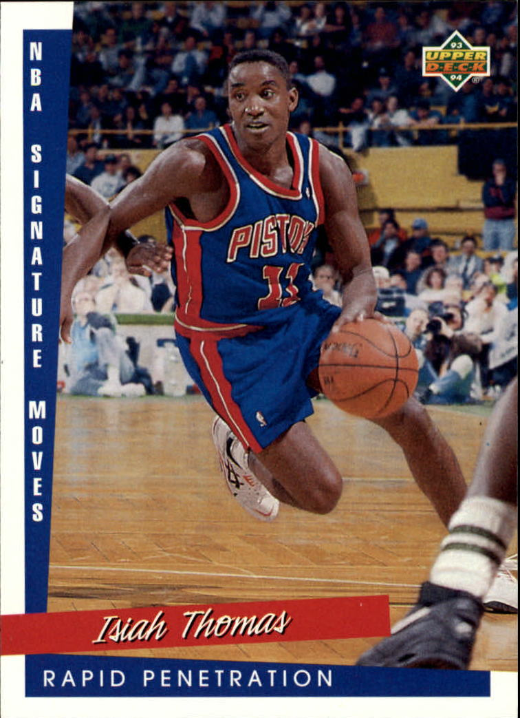 1993-94 Upper Deck #245 Isiah Thomas SM