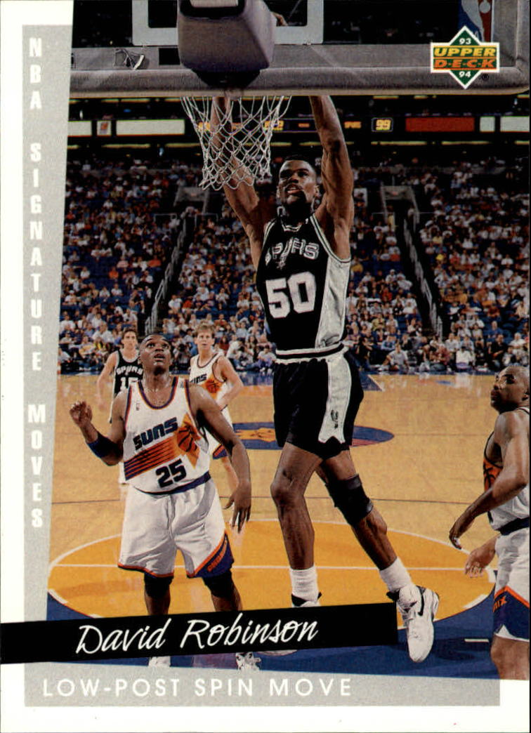 1993-94 Upper Deck #248 David Robinson SM