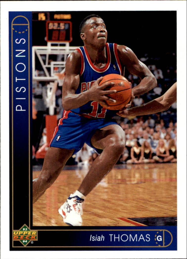 1993-94 Upper Deck #264 Isiah Thomas