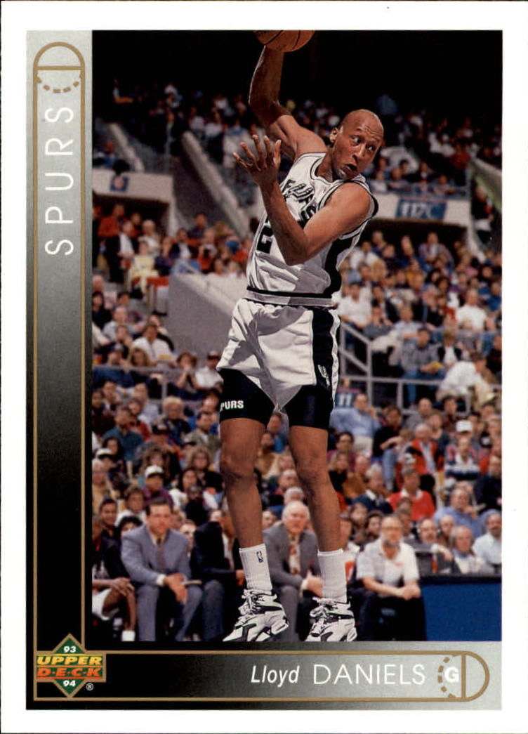 1993-94 Upper Deck #267 Lloyd Daniels